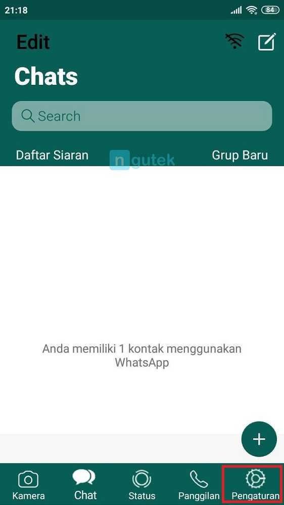 pengaturan ra whatsapp